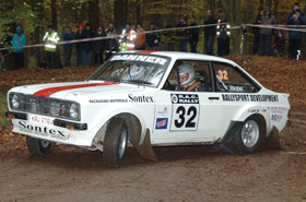 Group 4 Ford Escort Mk2 historic rally car