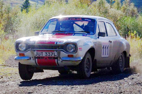 Group 4 Ford Escort Mk1 historic rally car